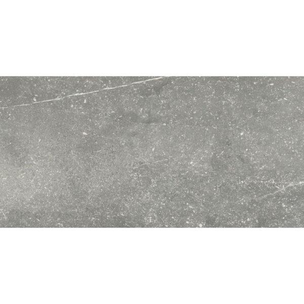 Natuursteenlook tegel 120x40 Grijs Nickon Chrome