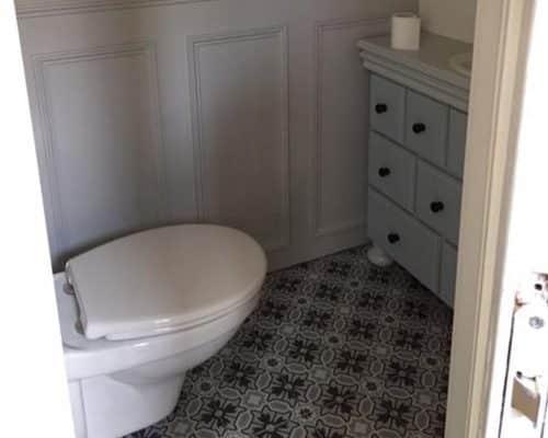 Portugese Tegels in Toilet