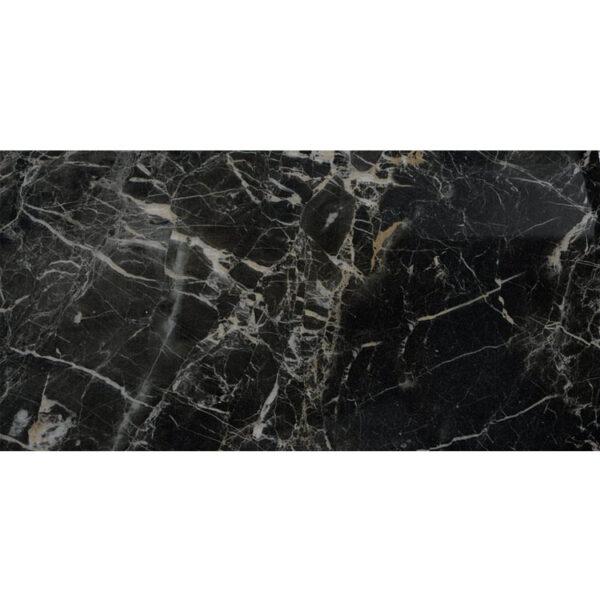 Marmerlook Tegel 60x120 Zwart Hoogglans Saint Laurent