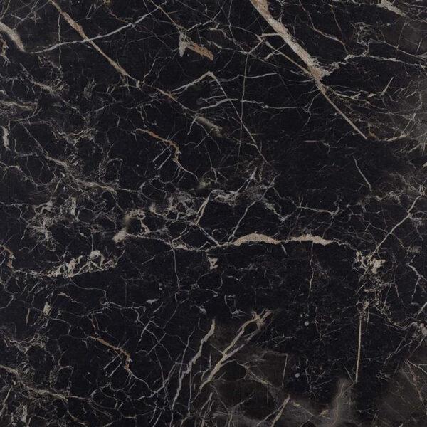 Marmerlook Tegel 60x60 Zwart Hoogglans Saint Laurent