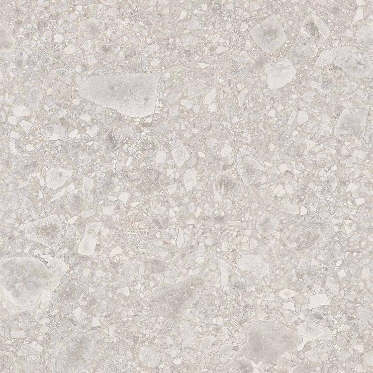 60 M2 Tuintegels.Terrazzo Tegels 60x60 Granito Lombardo Wit