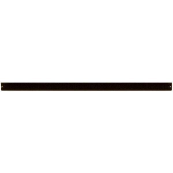 Antic Decor Tegel 1x20 Zwart Listelo Italiano Negro