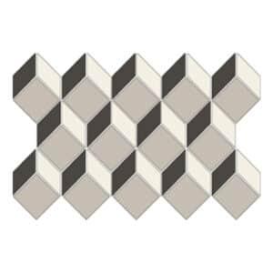 Ce.Si. 3D Cubic Mozaïek Tegels 43x21 - Art Deco Cubo