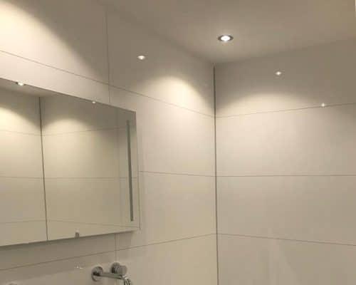 Grote Wit Wandtegels Natuursteenlook Tegels Badkamer