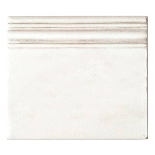 Handvorm Craquele Tegels 13x15 - Nature Wit Rodapie