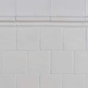 Handvorm Craquele Tegels 15x15 - Nature Wit 1