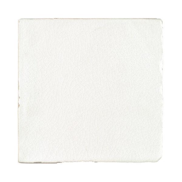 Handvorm Craquele Tegels 15x15 - Nature Wit