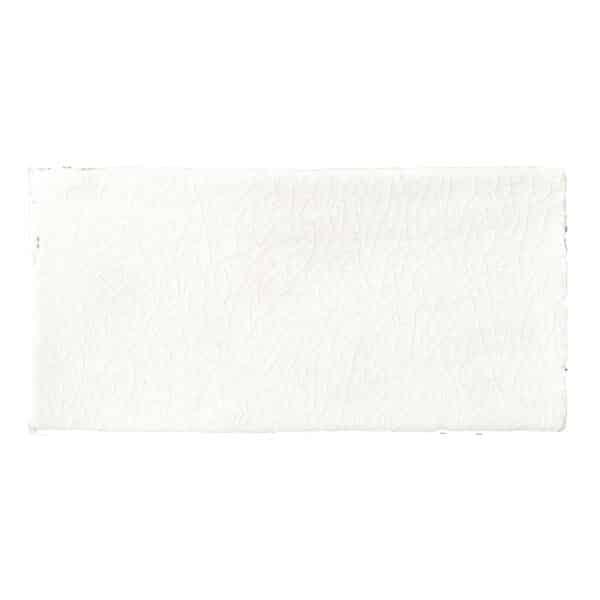 Handvorm Craquele Tegels 7,5x15 - Nature Wit