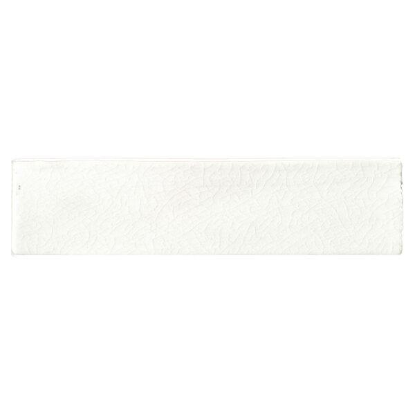 Handvorm Craquele Tegels 7,5x30 - Nature Wit