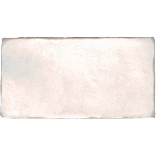 Handvorm tegel 7,5x15 Wit La Porta Plaquette T190