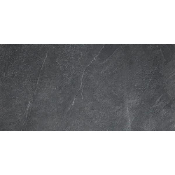 60 M2 Tuintegels.Leisteenlook Tegel 60x120 Blauw Zwart Darkstone