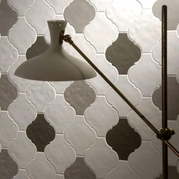 Arabesque Tegels 15x15 - Tonalite Handvorm Satijn
