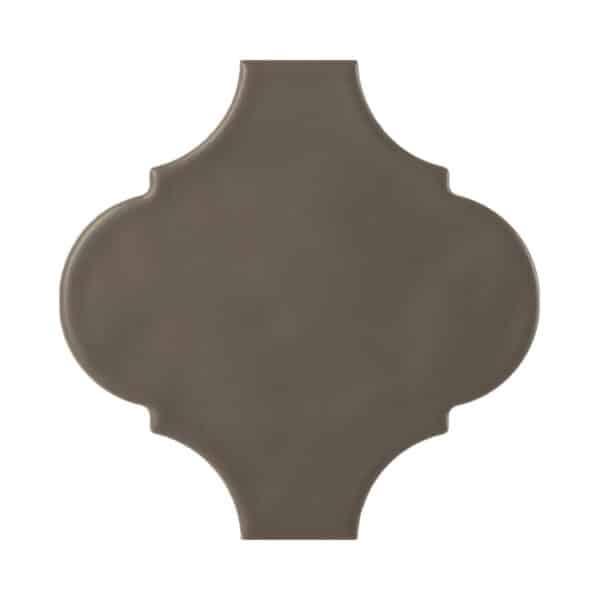 Arabesque Tegels 15x15 - Tonalite Handvorm Satijn Bruin