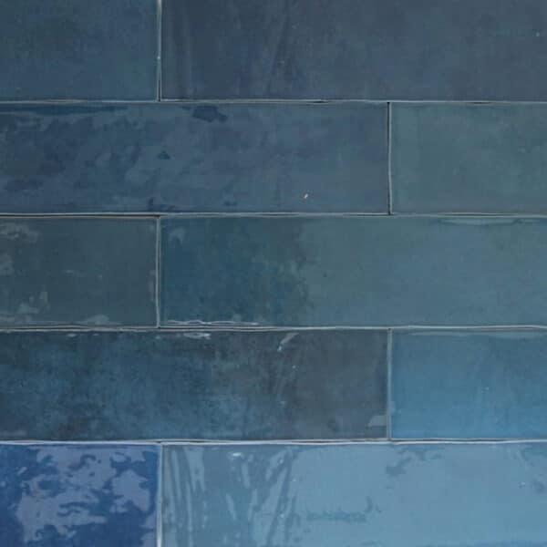 Handvorm Tegels 6,2x25 - Atelier Marokkaanse Zellige Donkerblauw