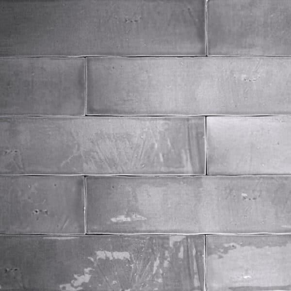 Handvorm Tegels 6,2x25 - Atelier Marokkaanse Zellige Grijs
