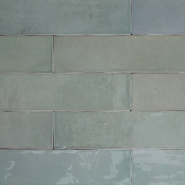 Handvorm Tegels 6,2x25 - Atelier Marokkaanse Zellige Olijfgroen