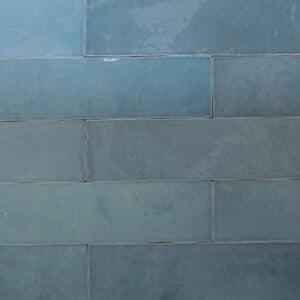 Handvorm Tegels 6,2x25 - Atelier Marokkaanse Zellige Turquoise Blauw