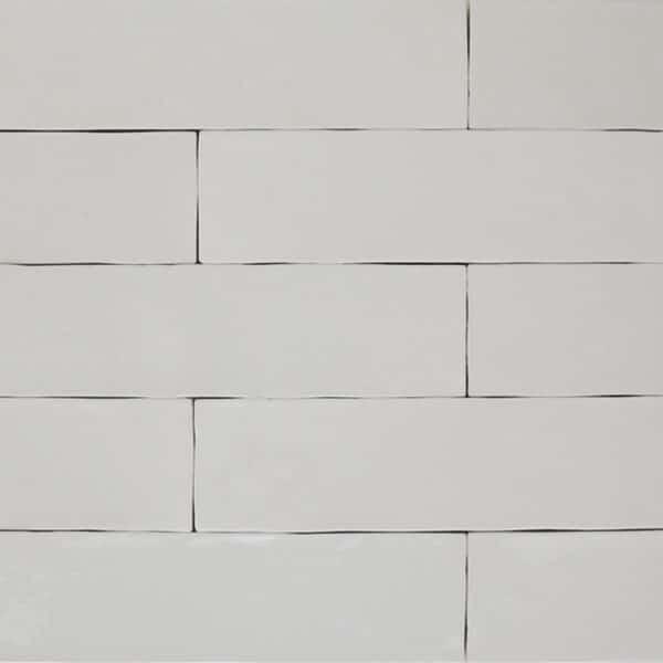 Handvorm Tegels 6,2x25 - Atelier Marokkaanse Zellige Wit