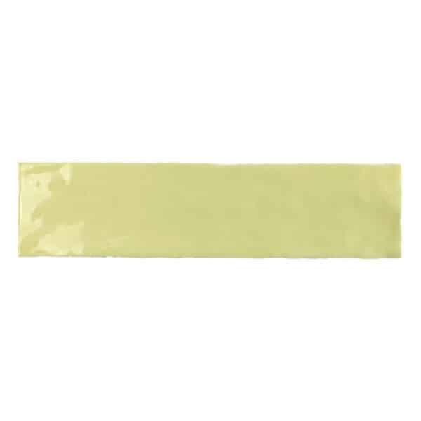 Handvorm Tegels 7,5x30 - Tonalite Crayon Geel