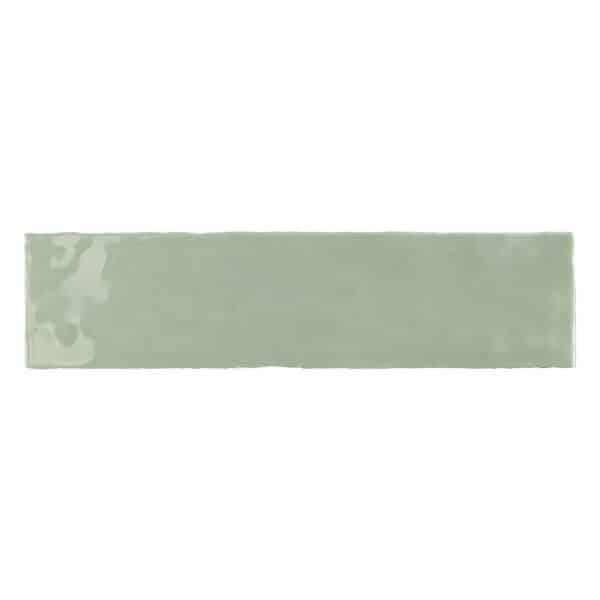 Handvorm Tegels 7,5x30 - Tonalite Crayon Olijf Groen