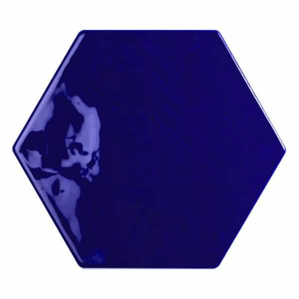 Hexagon Handvorm Tegels - Marokkaanse Zellige Tonalite Exabright Gebroken Blauw
