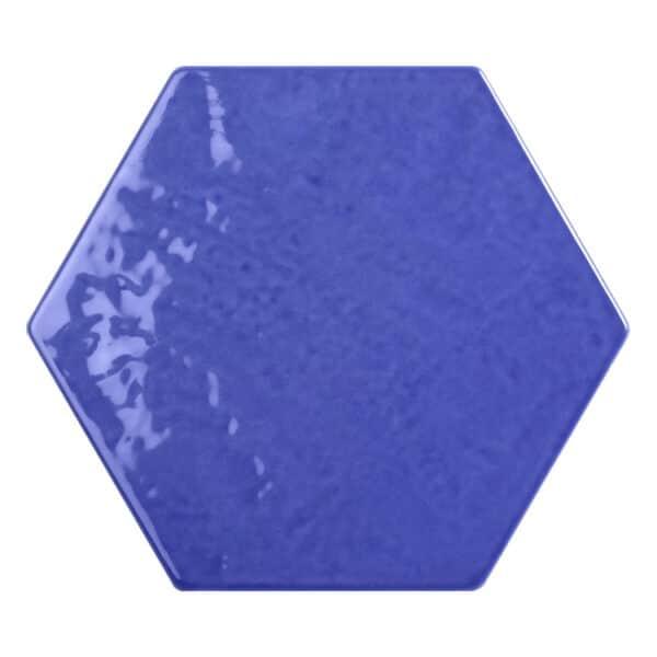 Hexagon Handvorm Tegels - Marokkaanse Zellige Tonalite Exabright Gebroken Lavendel