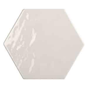 Hexagon Handvorm Tegels - Marokkaanse Zellige Tonalite Exabright Gebroken Wit