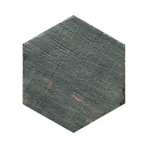 Hexagon Houtlook Tegels - Natucer Retro Blauw Grijs