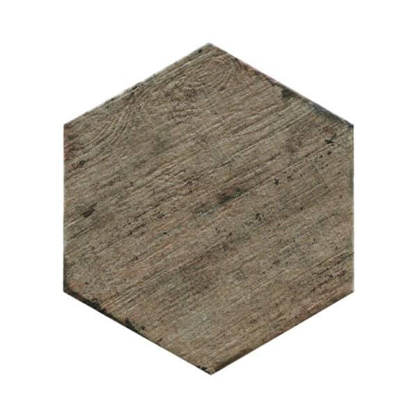 Hexagon Houtlook Tegels - Natucer Retro Bruin