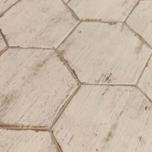 Hexagon Houtlook Tegels - Natucer Retro Wit 1