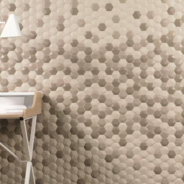 Hexagon Mozaïek 34,32,6 - Natucer 3D Hexa Zeshoek