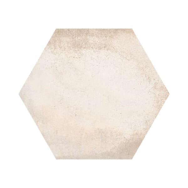 Hexagon Tegels 23x27 - Vives Laverton Gebroken Wit