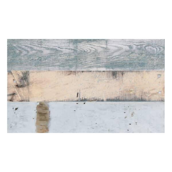 Houtlook Wandtegels 5x25 - Decor Porticciolo Multicolor Blauw Beige