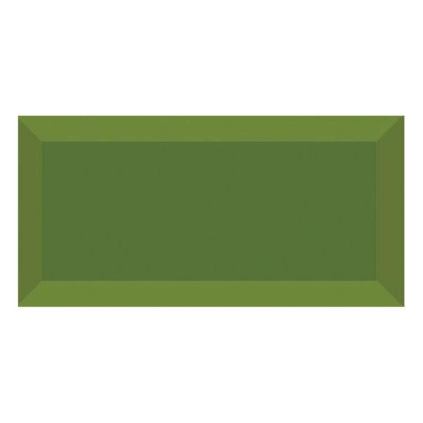 Metro Tegels 7,5x15 - Heritage Facet Glans Groen
