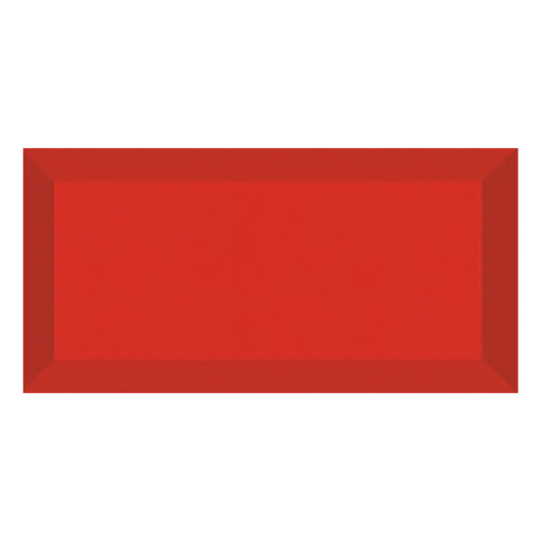 Metro Tegels 7,5x15 - Heritage Facet Glans Rood