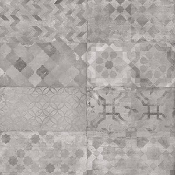 Patroon Tegels 14x28 - Portugese Tegels Laverton Print Mix Grijs