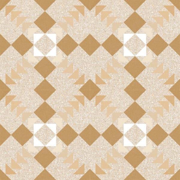 Portugese Tegels 20x20 - Patroon Tegels Vives Benaco Beige