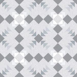 Portugese Tegels 20x20 - Patroon Tegels Vives Benaco Grijs