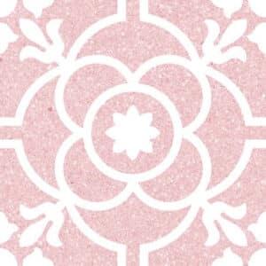 Portugese Tegels 20x20 - Patroon Tegels Vives Carole Roze
