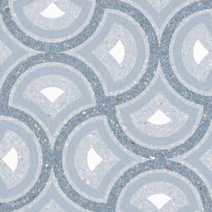 Portugese Tegels 20x20 - Patroon Tegels Vives Pigneto Blauw 1