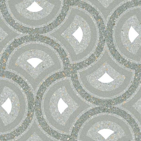 Portugese Tegels 20x20 - Patroon Tegels Vives Pigneto Groen 1
