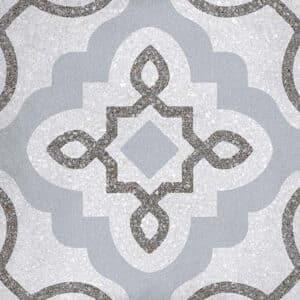 Portugese Tegels 20x20 - Patroon Tegels Vives Tercello Grijs 1