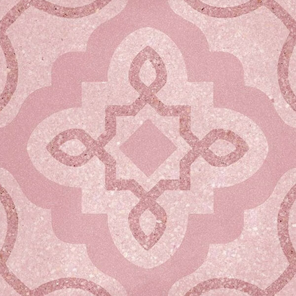 Portugese Tegels 20x20 - Patroon Tegels Vives Tercello Roze
