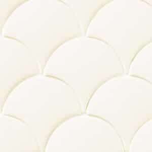Schubben Tegels 13x7 - Natucer Squama Gebroken Wit
