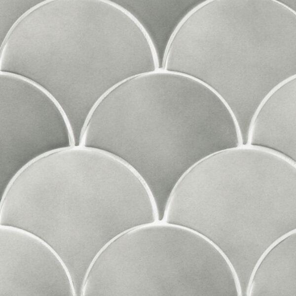 Schubben Tegels 13x7 - Natucer Squama Grijs