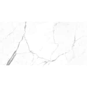 Marmerlook Vloertegel Wandtegel 120x60 Wit hoogglans Calacatta Pearl