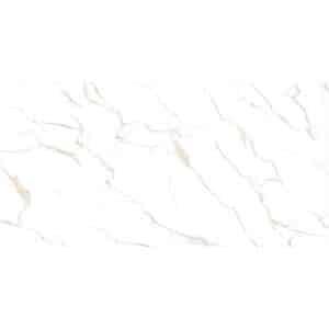 Marmerlook Vloertegel Wandtegel 120x60 Wit Calacatta Bronz