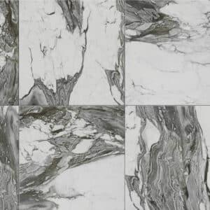 Marmerlook Vloertegel Wandtegel 60x60 Wit To Be Renoir SF4