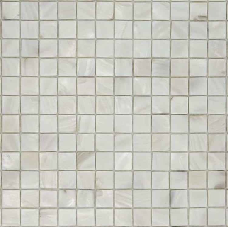 Wonderbaar Parelmoer Mozaïek - Parel Wit 20x20 mm – Tegels & Laminaat FS-33