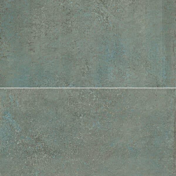 Metallook Tegels 120x60 - S50 Verderame Koper Groen Variatie